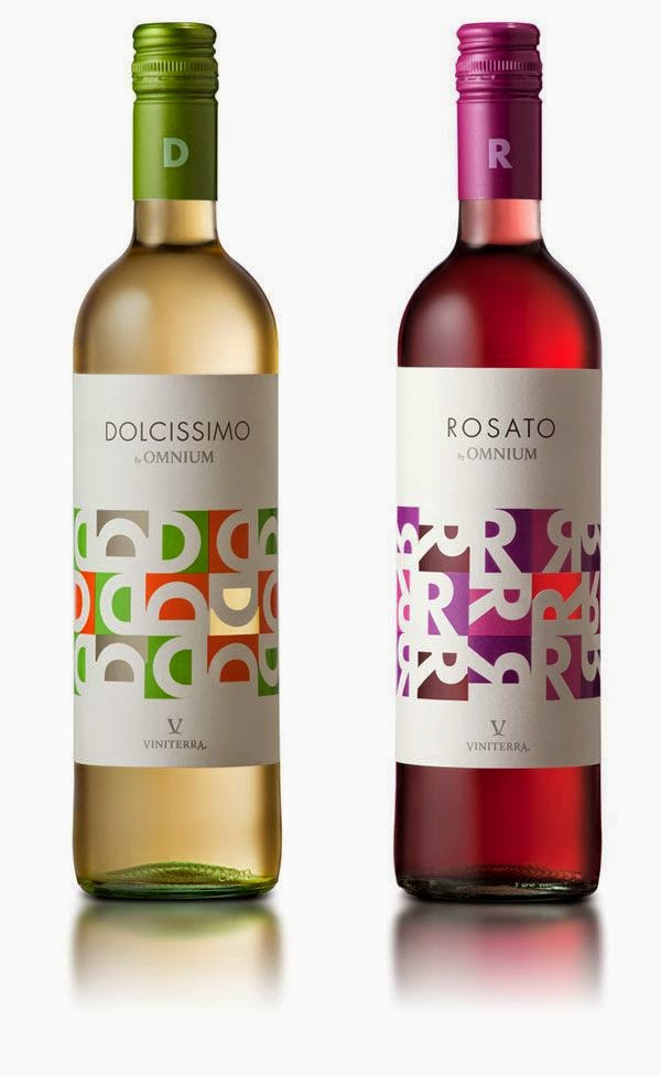 dolce aperitivo rosato packaging design lettering naming grafica etichette