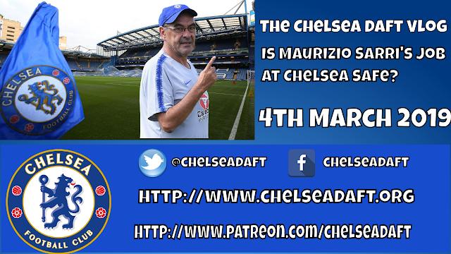 Is Maurizio Sarri s job at Chelsea safe?