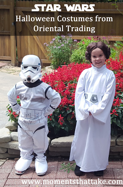 Coordinating sibling costumes
