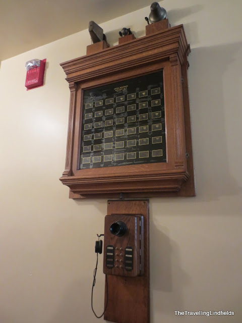 Servant call system at The Elms