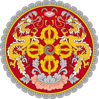 Gambar Lambang Negara Bhutan