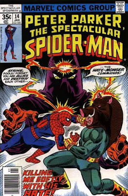 Spectacular Spider-Man #14, the Hate-Monger