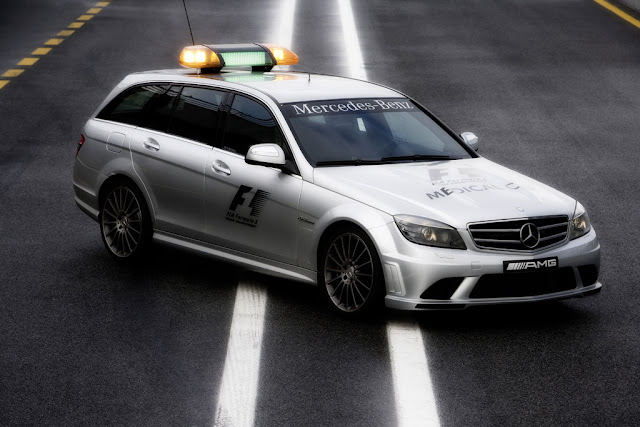 2008 mercedes c63 amg f1 medical car