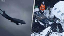 ¡Se filtró el vídeo del trágico momento cuando el avión del Chapecoense, estrella contra el suelo!