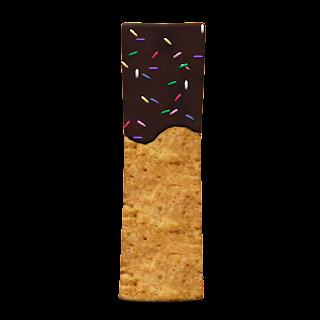 Abecedario de Galleta con Chocolate.