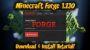 forge 1.7.10 download