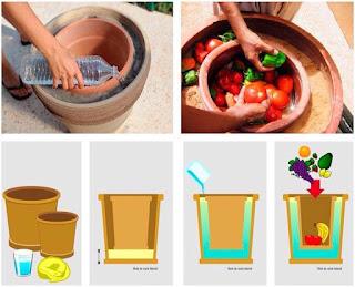"""""""Pot-in-pot. Cómo conservar alimentos sin electricidad"""""""