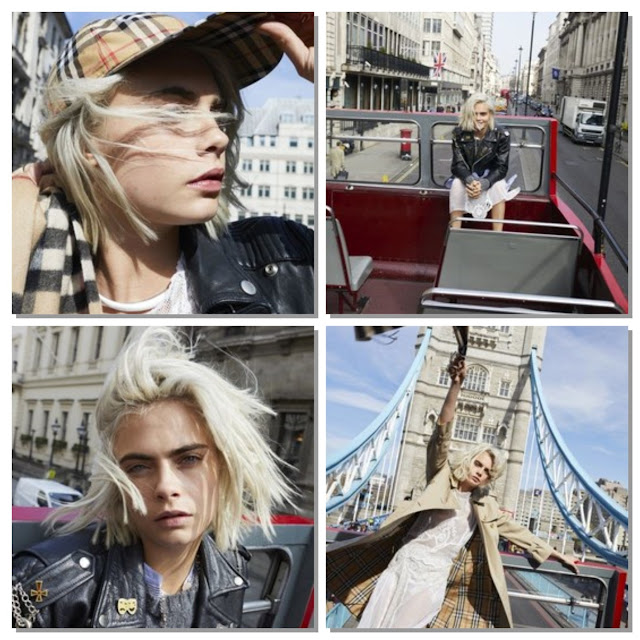 Burberry Introduces New Fragrance for Women featuring Cara Delevingne