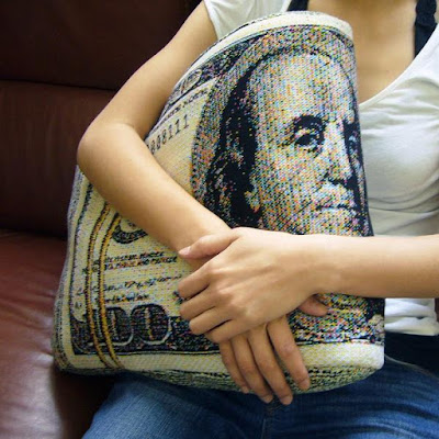Banknote Pillow