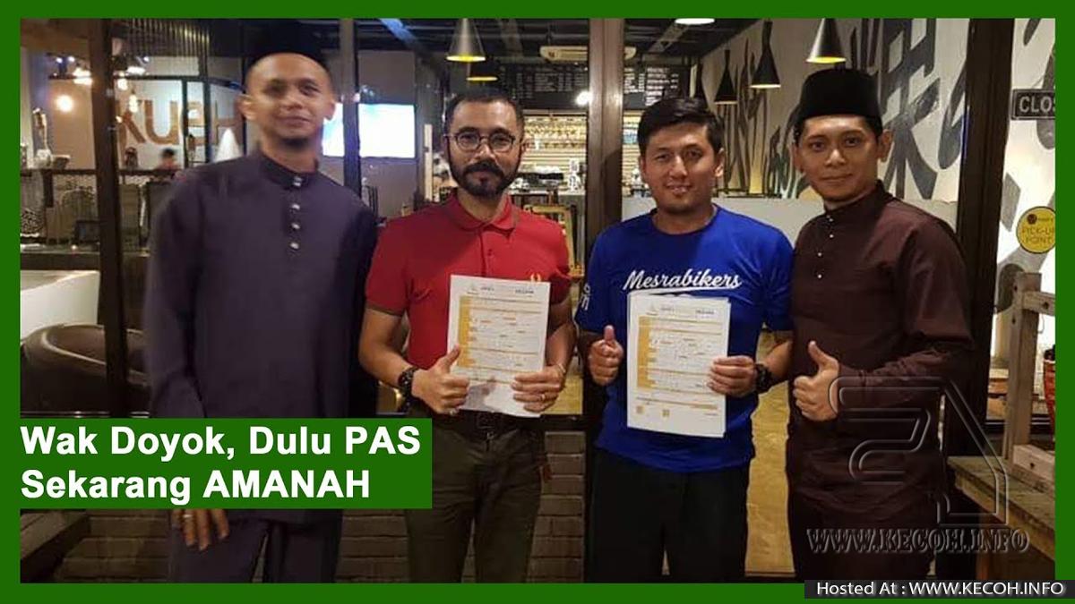 Wak Doyok Sertai Parti Amanah Mendapat Perhatian Netizens