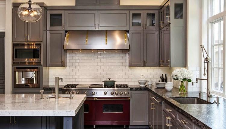 Contoh Desain Interior Dapur Modern Minimalis 2017