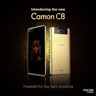 upgrade tecno Camon C8