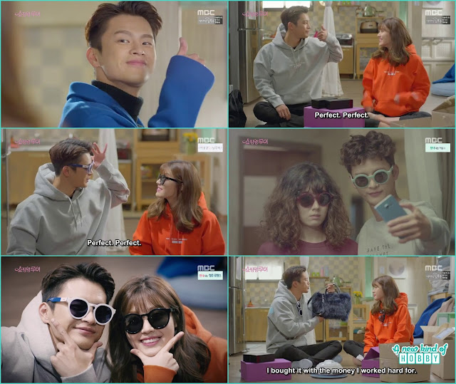 louis and bol shil wear couple things - Shopping King Louis (Kisses) korean Drama