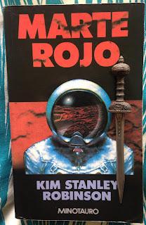 Portada del libro Marte rojo, de Kim Stanley Robinson