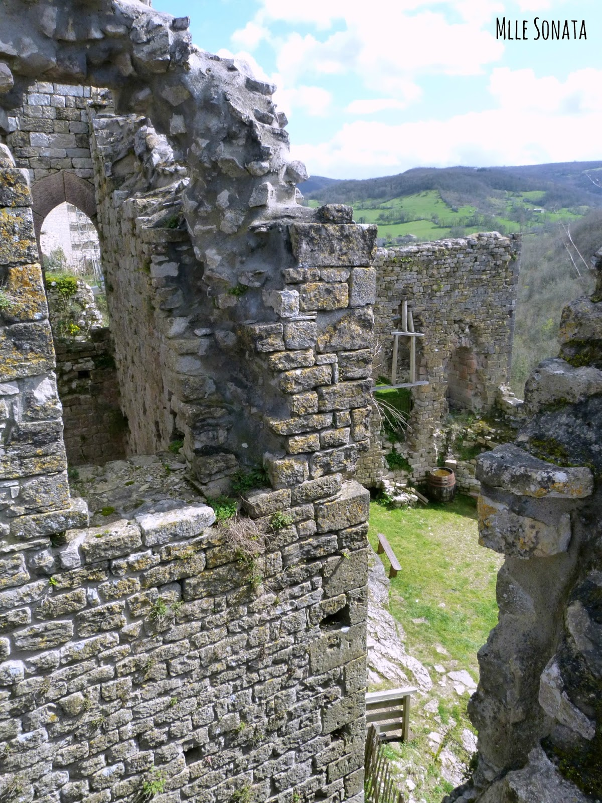 Château de Penne dans le Tarn.