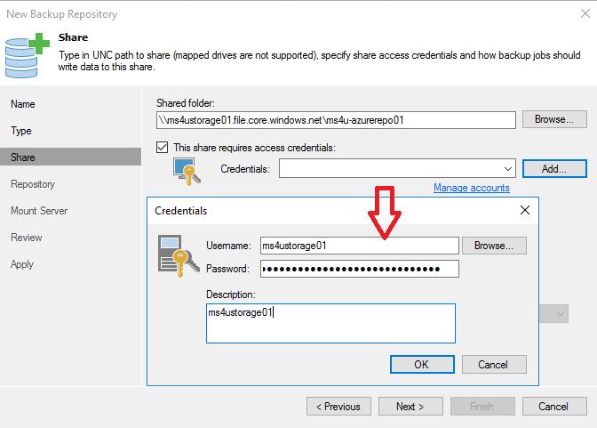 HYPER-V,SYSTEM CENTER AND AZURE: Use Azure Files as Veeam