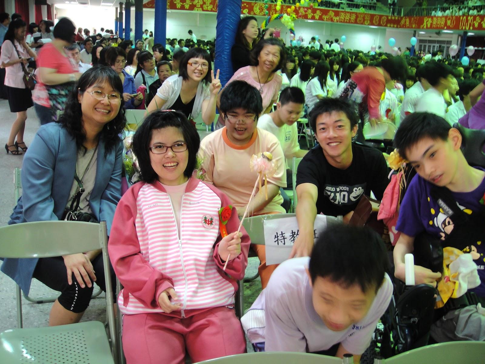 DWAN雲之端: 楊名國中畢業典禮--要感謝的人太多了--離情依依--感謝特教老師們&愛心媽媽們的教導和疼愛有加 ...