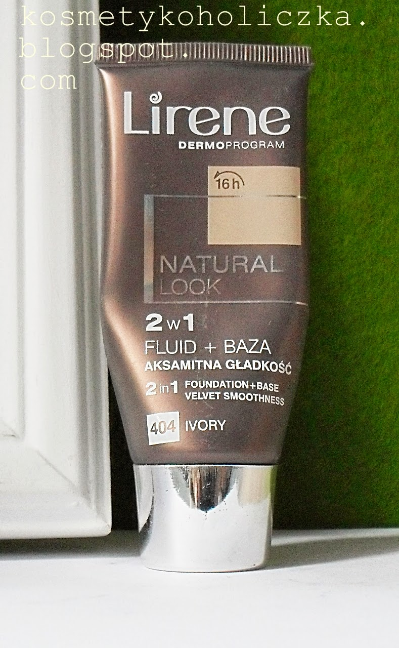 Lirene Dermoprogram  Natural Look 2w1 fluid+baza