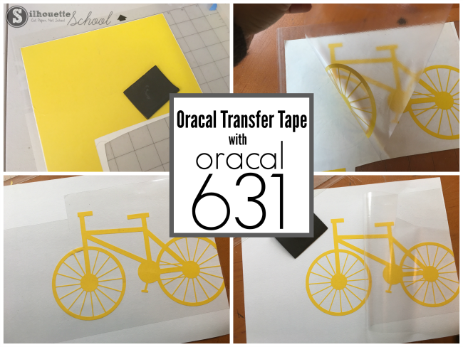 using transfer tape for vinyl, transfer tape for 631, transfer tape vinyl 631, clear transfer tape backing, silhouette cameo, silhouette vinyl