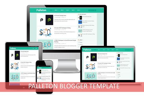 Download Palleton Blogger Template
