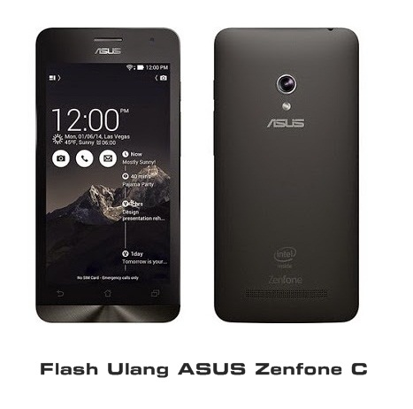 Flash ulang Zenfone C