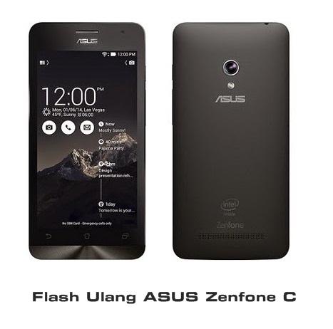 Cara Flash Ulang Asus Zenfone C Lengkap Dengan Gambar