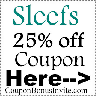 Sleefs Promo Code Jan,Feb,March;Sleefs Coupon April,May,June; Sleefs Discount Code July,Aug,Sep,Oct,Nov,Dec