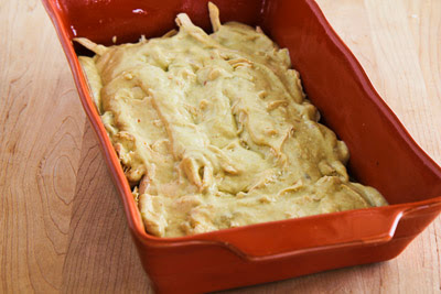 Green Chile and Chicken Mock Enchilada Casserole found on KalynsKitchen.com
