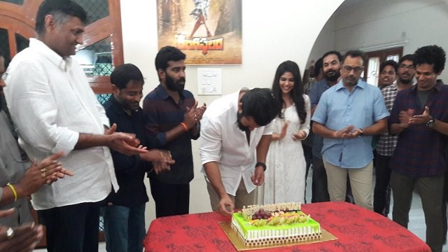 Sai Dharam Tej birthday celebrations at Chitralahari launch event