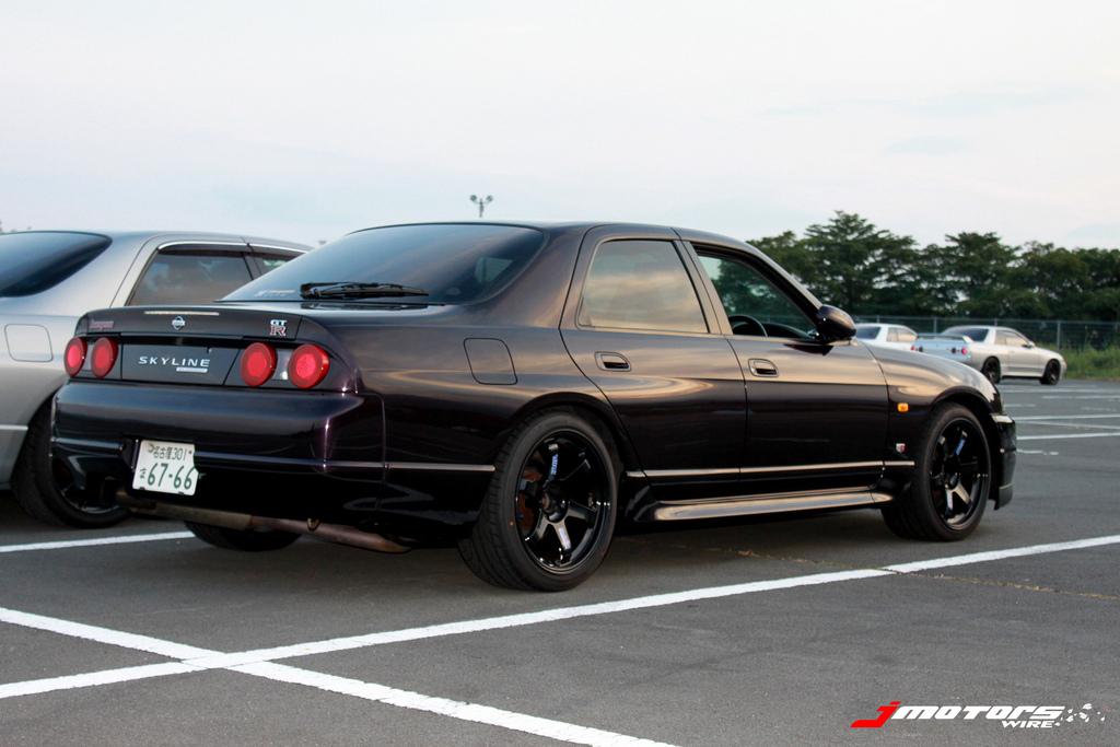 Nissan Skyline R33, napęd, JDM, japoński sportowy samochód, sedan, kultowy, 日本車 チューニングカー スポーツカー 日産