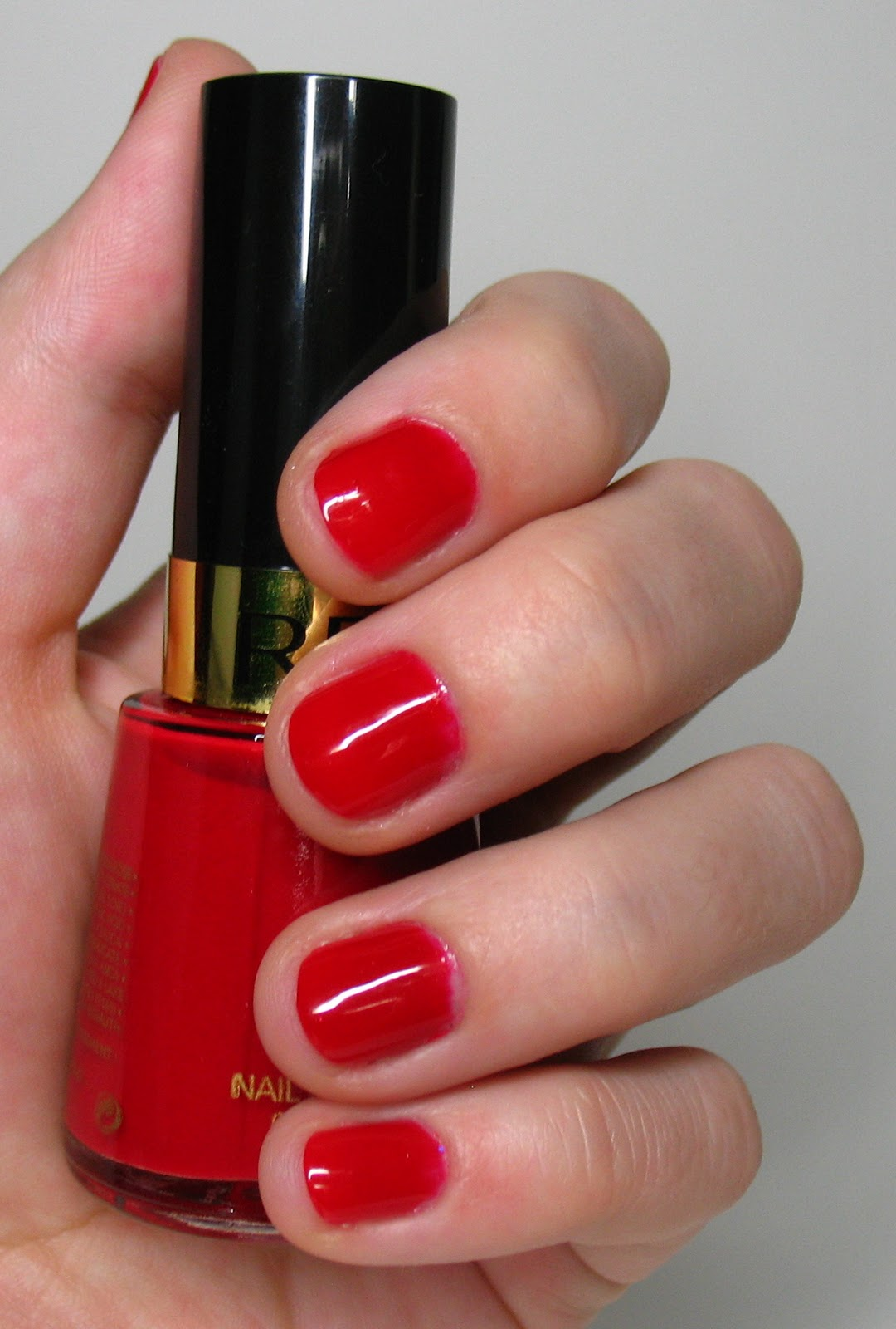 Beyond Just Beauty Revlon Nail Enamel In 675 All Fired Up Review