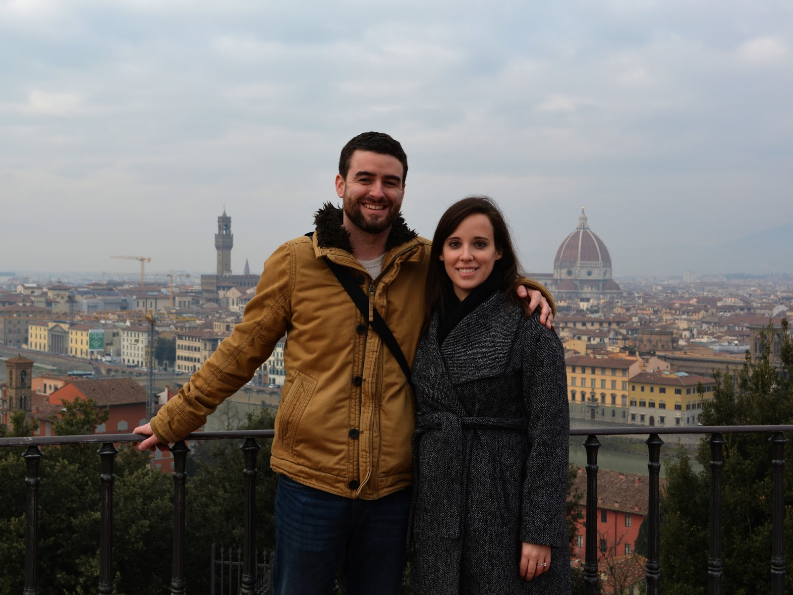 cozy birdhouse | overlooking florence from piazzale michelangelo