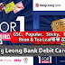 【Hong Leong Bank Debit Card福利】GSC、Popular、Sticky、The Coffee Bean & Tea Leaf可享有买1送1!