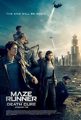 Maze Runner The Death Cure 2017 movie poster