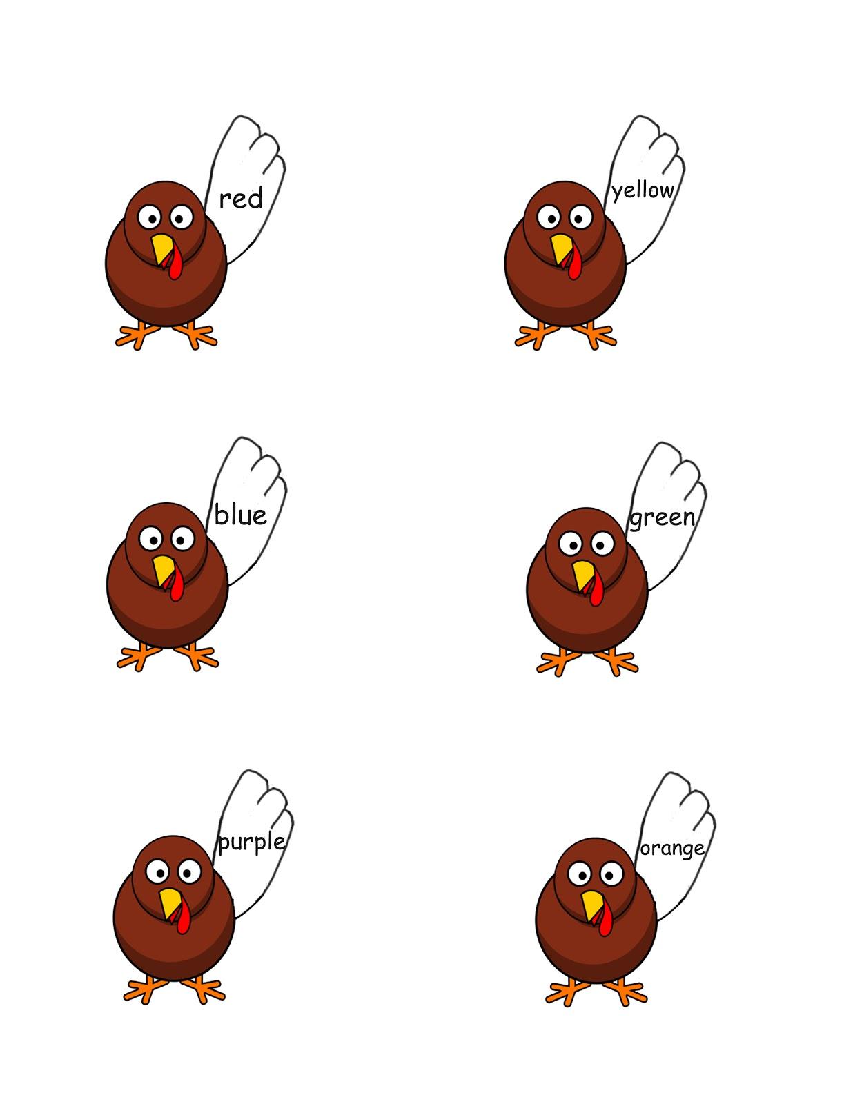 Free Thanksgiving File Folder Games