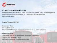 Lowongan Kerja KAI Commuter Jabodetabek Desember 2016 - Petugas Pelayanan KRL (PPK)