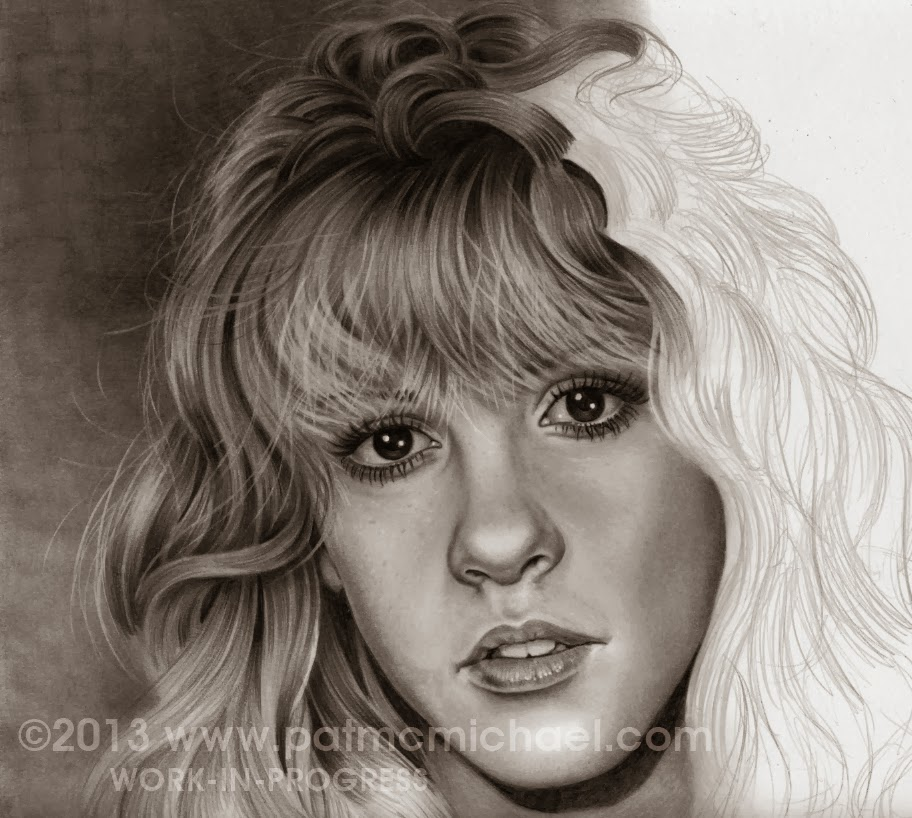 Graphite Drawings And What-Not: Stevie Nicks Pencil Drawing