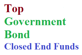 Top Government Bond Closed End Funds 2014