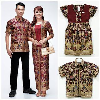 batik sarimbit keluarga di surabaya