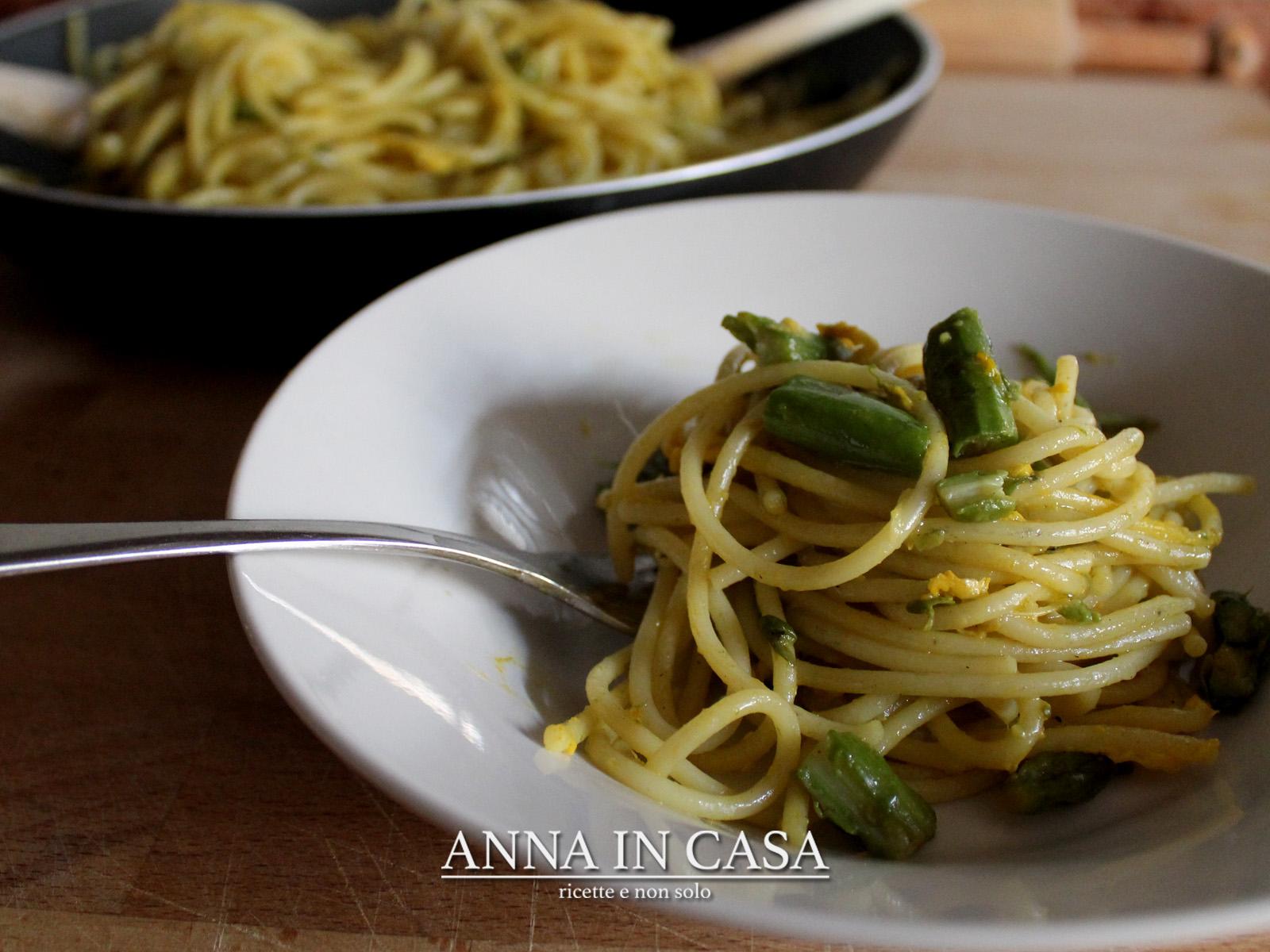Spaghetti carbonari con fagiolini ricetta ed ingredienti for Piatto romano