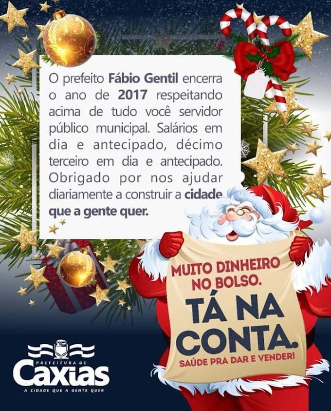 Prefeito Fábio Gentil anuncia pagamento de servidores e convida população para inauguração da nova Praça da Chapada neste sábado(23)
