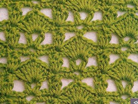 Patrón #1208: Punto Abierto a Crochet