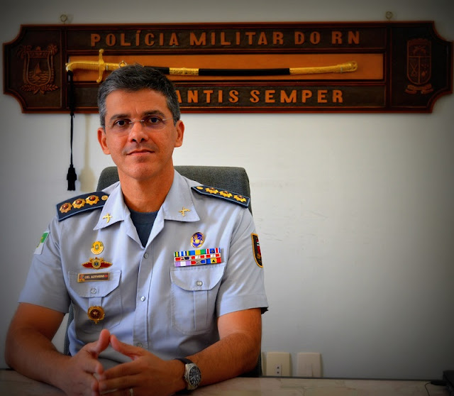 Resultado de imagem para Coronel Azevedo é o pré-candidato a deputado dos oficiais da PM e Bombeiros