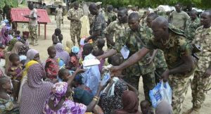 Nigerian troops rescue 38 women and 42 children