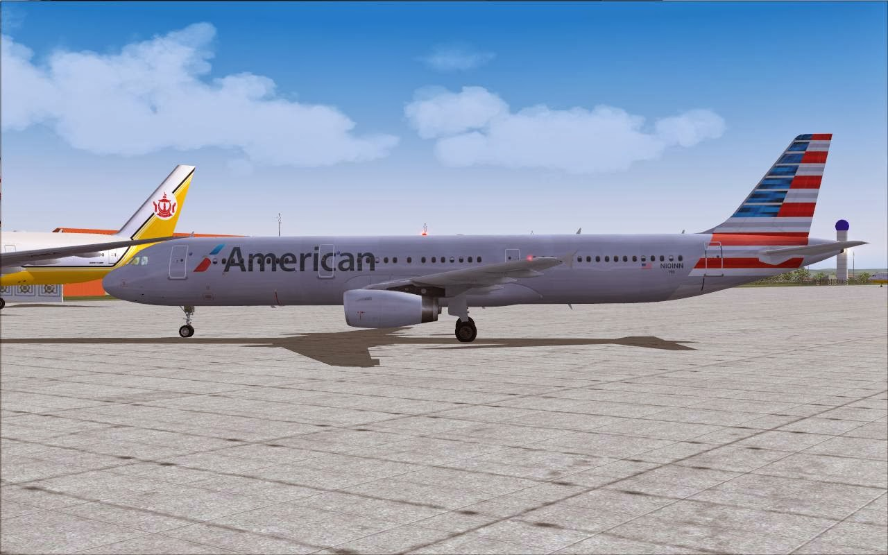 Project Airbus American A321