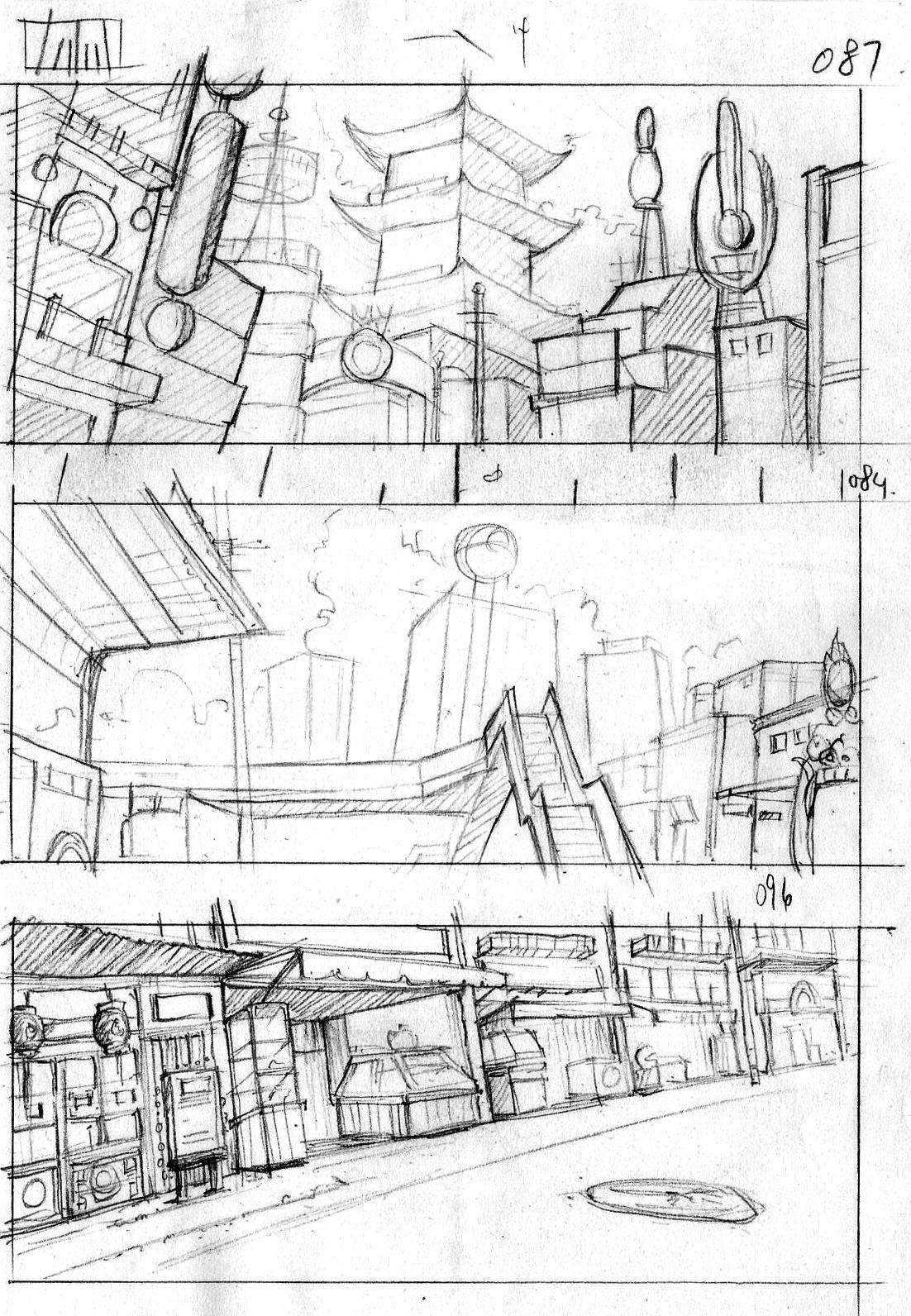 GorConcept: Layout & Composition Study 05_惡童鉄コン筋クリート(Part2)