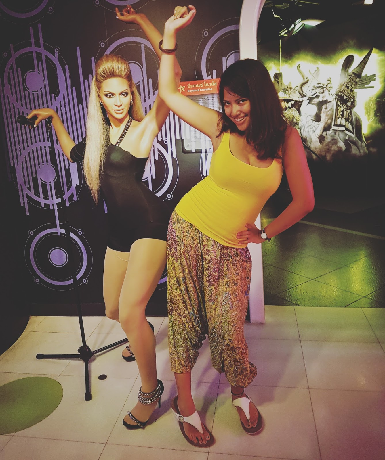 Madame Tussauds, Bangkok | Ummi Goes Where?