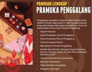 Download Panduan Extrakurikuler Pramuka Kurikulum 2013 SD