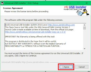 Gambar 5 Langkah Mudah Membuat Bootable Kali Linux di Flashdisk Menggunakan Universal USB Installer