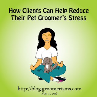 Reducing groomer stress